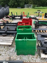 Tractor 3 Point Rear Weight Box